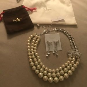 Kate Spade Necklace and Earrings